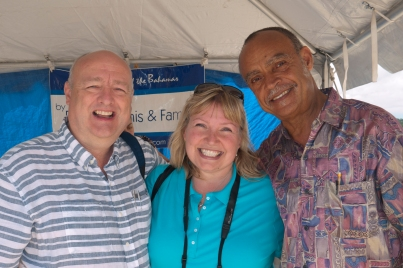 Tom, Eddie Minnis and Me (Photo by Randy Curry)