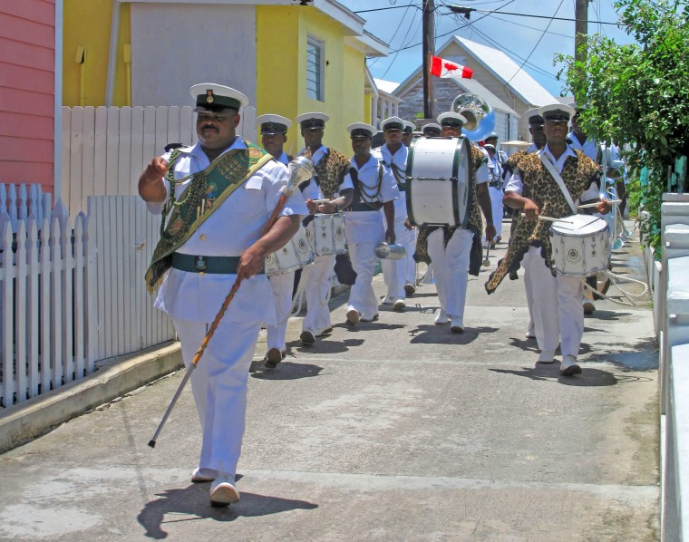 Bahamad Defence Force Band - Green Turtle Cay