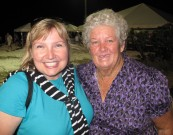 Me with Mrs. Laura, of Laura's Kitchen