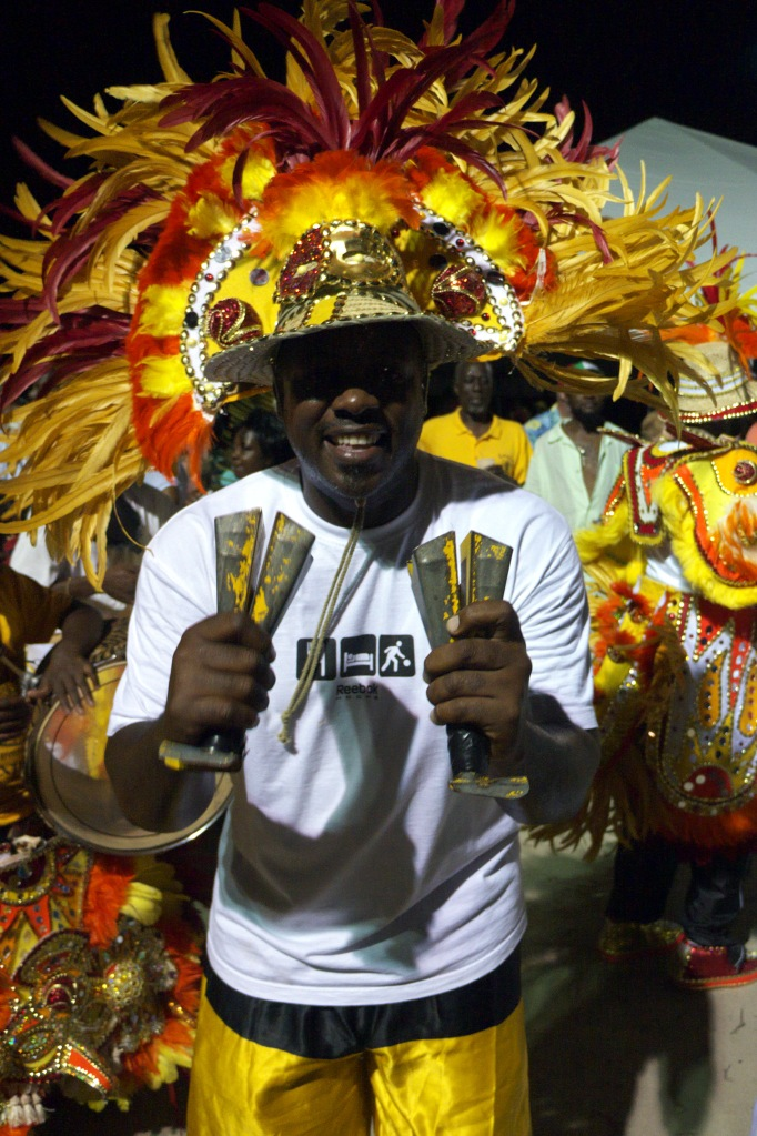 Junkanoo, Island roots heritage festival, bahamas, abaco, green turtle cay, cowbell