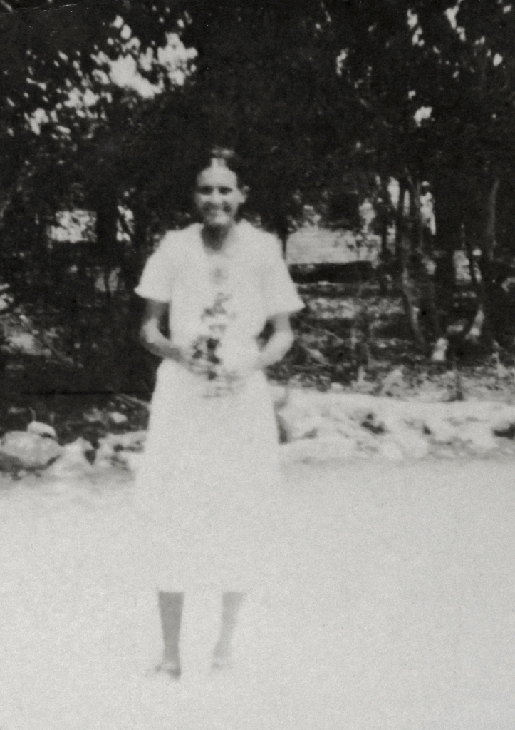 "r""Ma May"" Marion Mayfield (Gates) Curry 1902-1984 Photo date unknown"