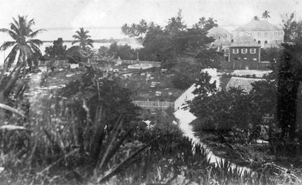 View of Settlement from the Hill East of Town