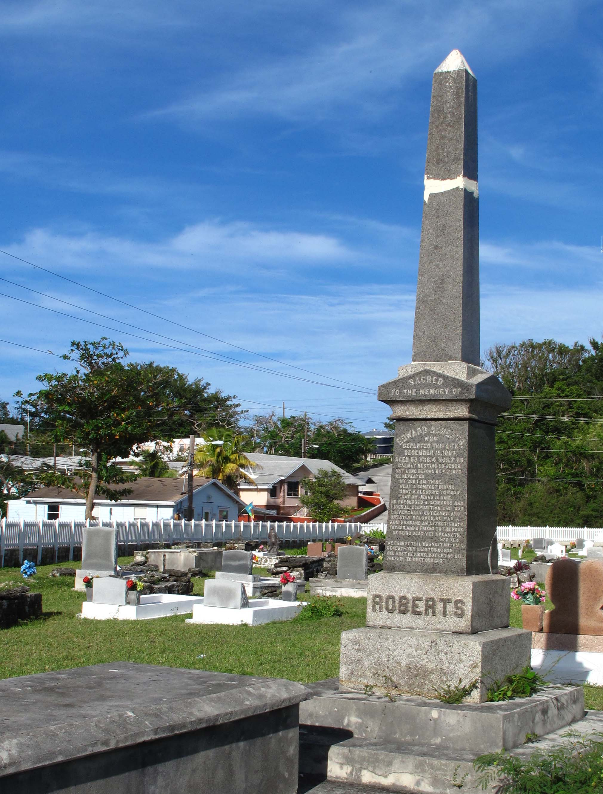 Green Turtle Cay Cemetery