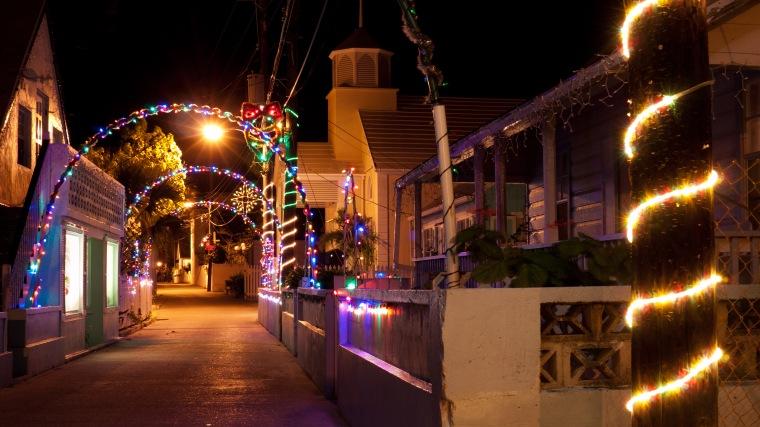 bahamas, green turtle cay, abaco, festival of lights