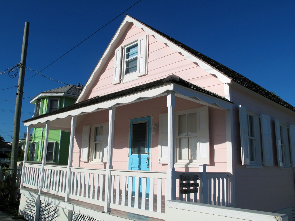 Pink House After 3