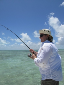 Reeling in My Bonefish