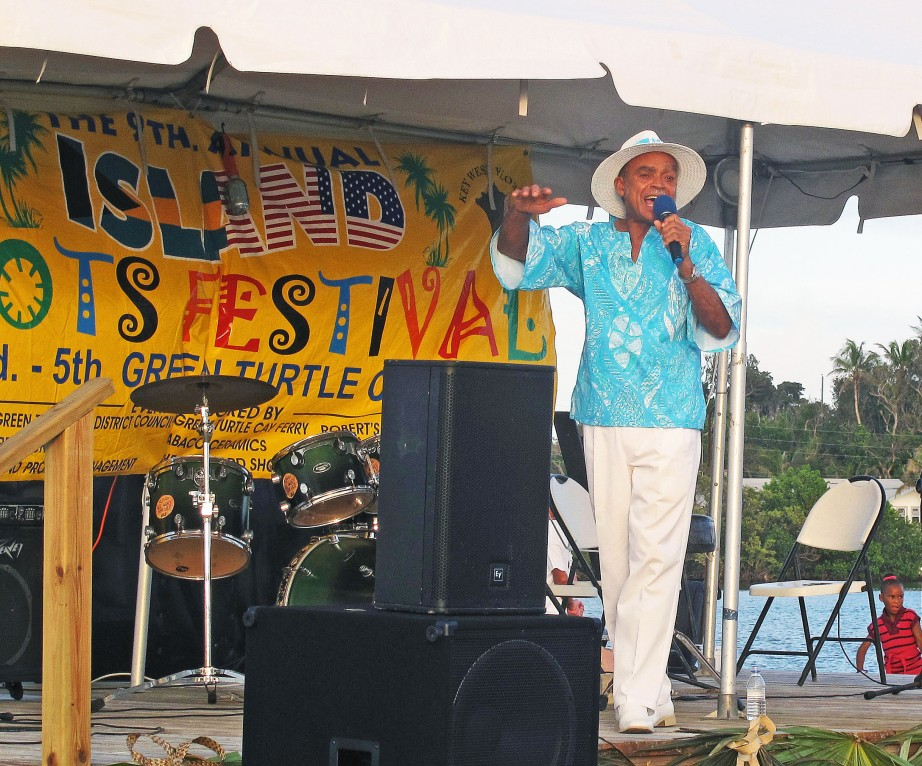 Bahamian music legend, Eddie Minnis, at IRHF2013