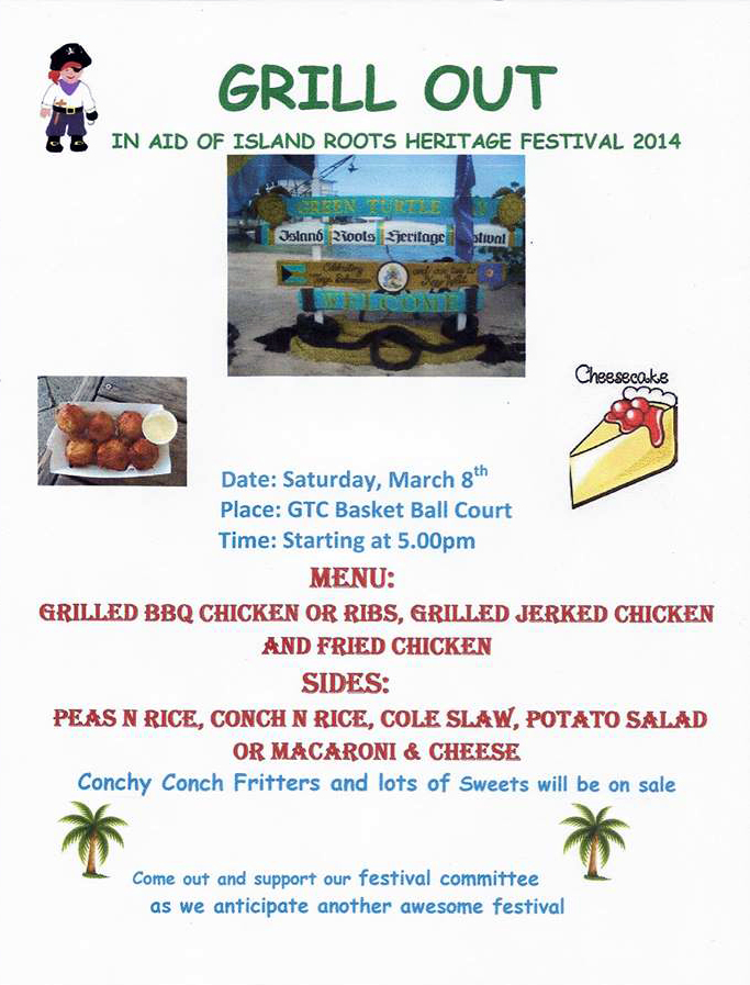 IRHF Cookout Flyer
