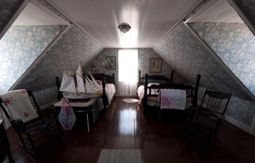 Upstairs Bedroom at Museum