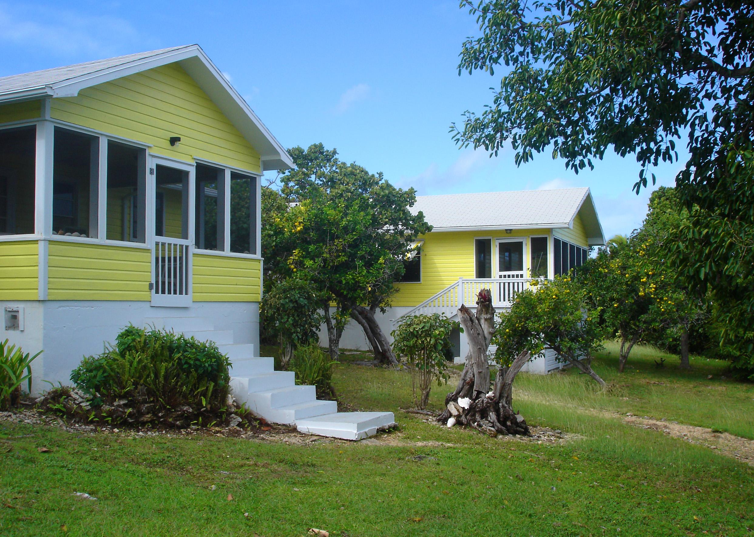 Roberts Cottages on Black Sound