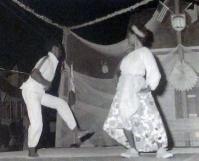 Comical Bahamian folk dance