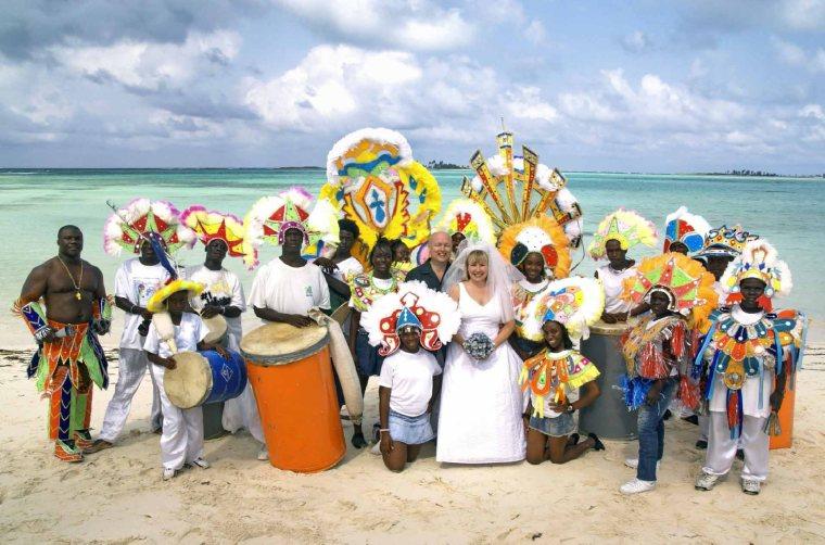 Our Junkanoo Wedding - Green Turtle Cay, Abaco, Bahamas - May 19, 2007