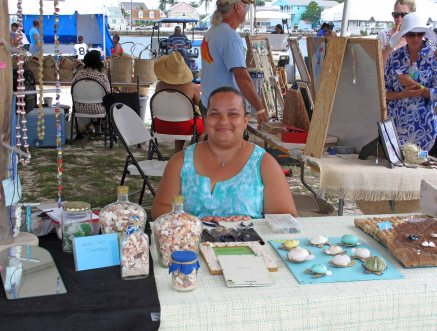 Seanna Dames from Abaco Sea Creations