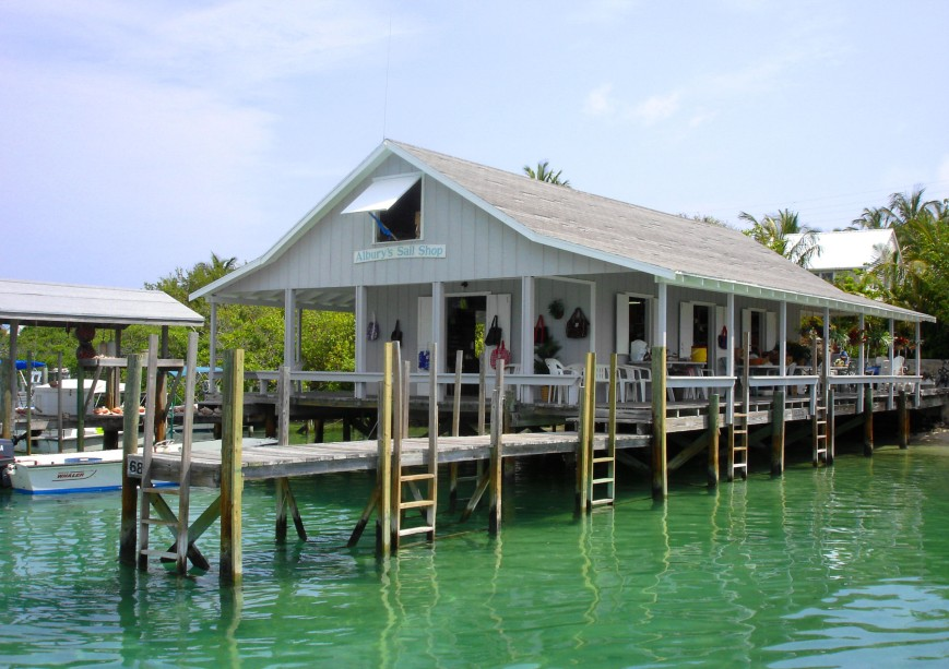 Albury's Sail Shop, Man-O-War, Abaco, Bahamas