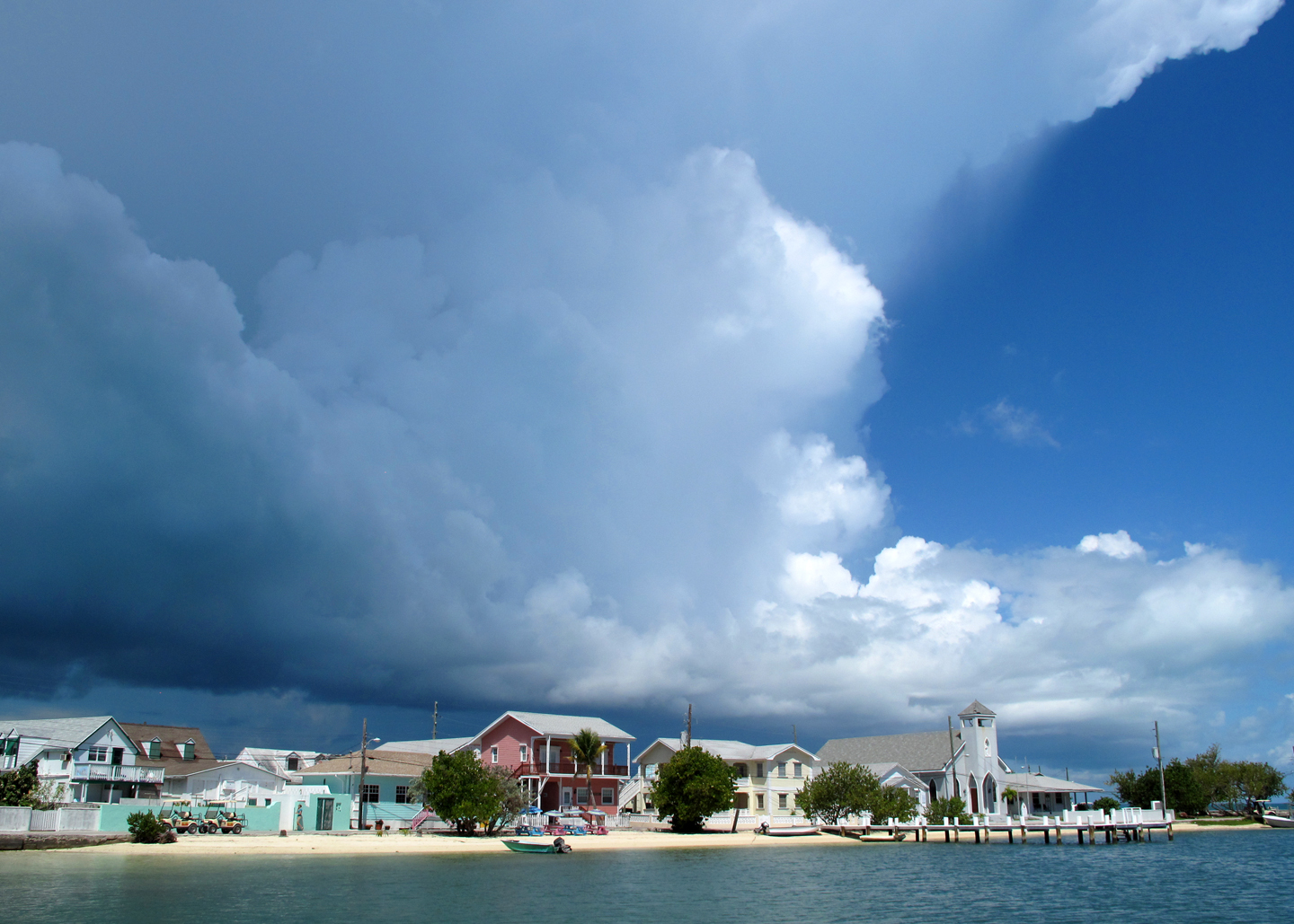 bahamas, abaco, green turtle cay, weather, storms, new plymouth