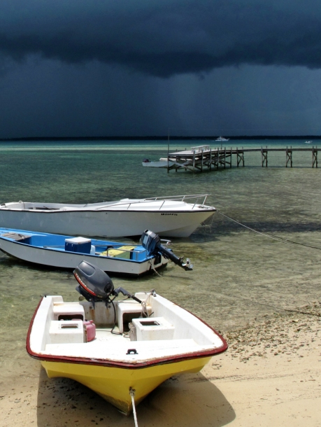 abaco, bahamas, green turtle cay, boats, weather, storm