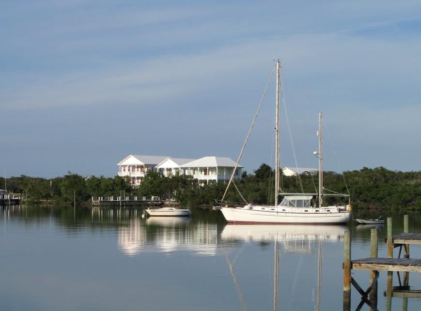 bahamas, abaco, green turtle cay, leeward yacht club, boat