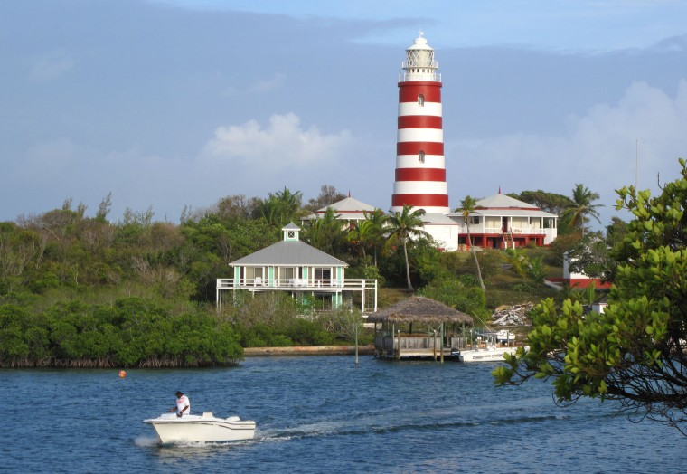 hope town, elbow cay, bahamas, abaco, lighthouse