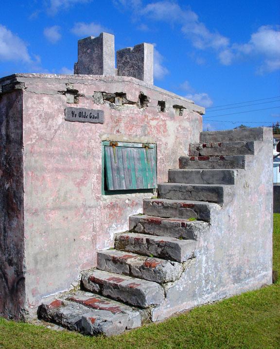 abaco, bahamas, green turtle cay, jail, travel, photography