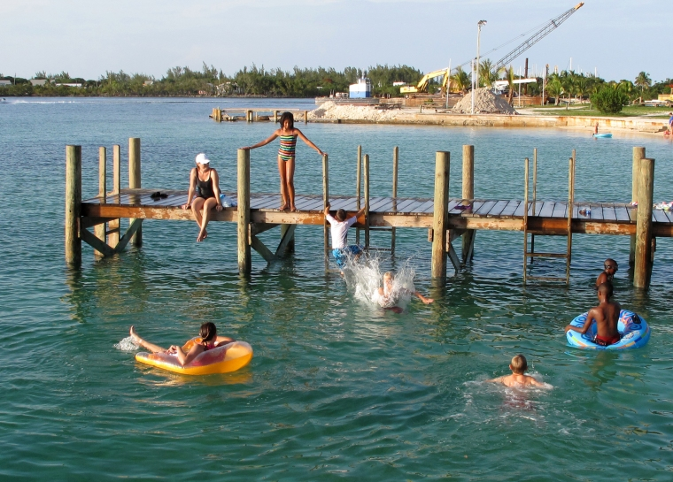 bahamas, abaco, green turtle cay, swimming, diving, new plymouth