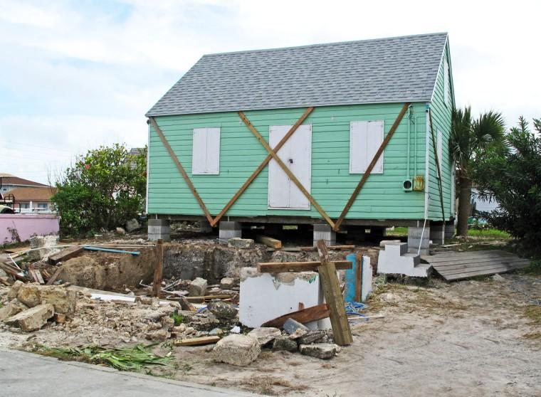 fish hooks, green turtle cay, abaco, bahamas, restoration