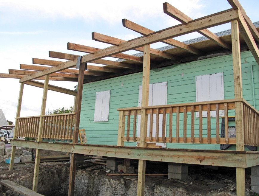 fish hooks, bahamas, abaco, green turtle cay, restoration