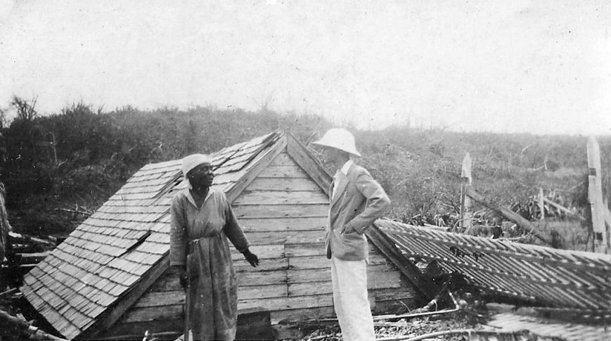 bahamas, green turtle cay, abaco, hurricane, 1932