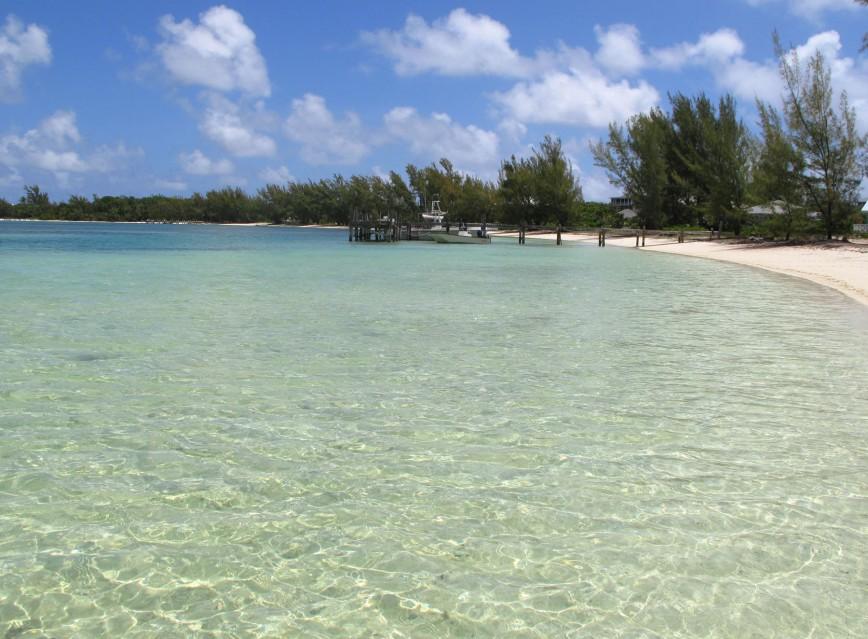 bahamas, abaco, green turtle cay, coco bay, beach