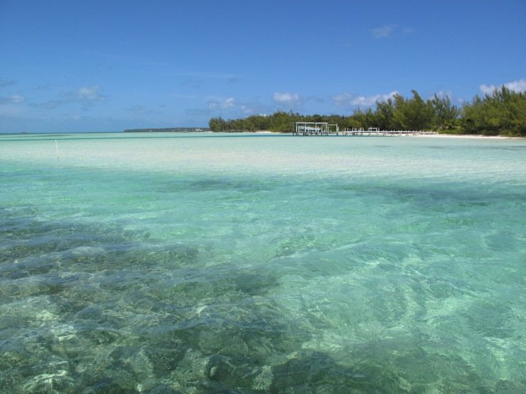 North end of Coco Bay, Green Turtle Cay, Bahamas