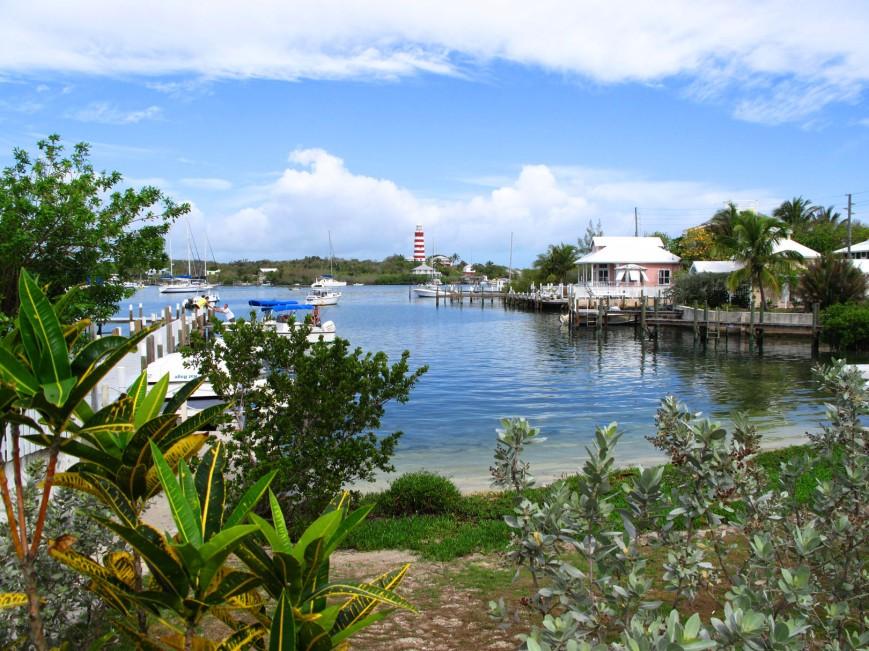 bahamas, abaco, hope town, lighthouse
