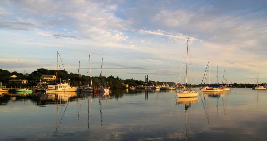 bahamas, abaco, boating, fishing, sunrise, green turtle cay