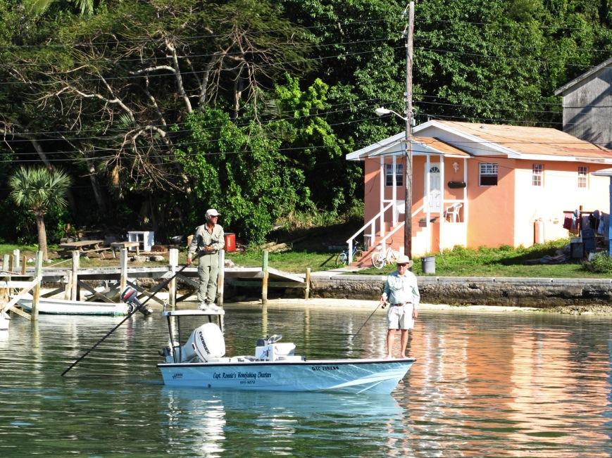 bahamas, abaco, green turtle cay, ronnie sawyer, bonefishing