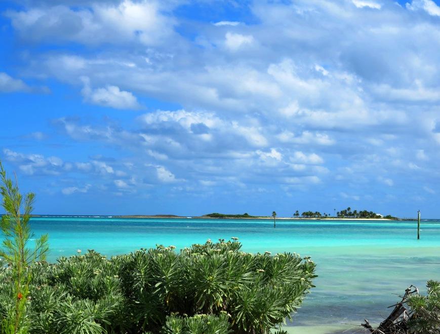 bahamas, abaco, green turtle cay, beach, gillam bay