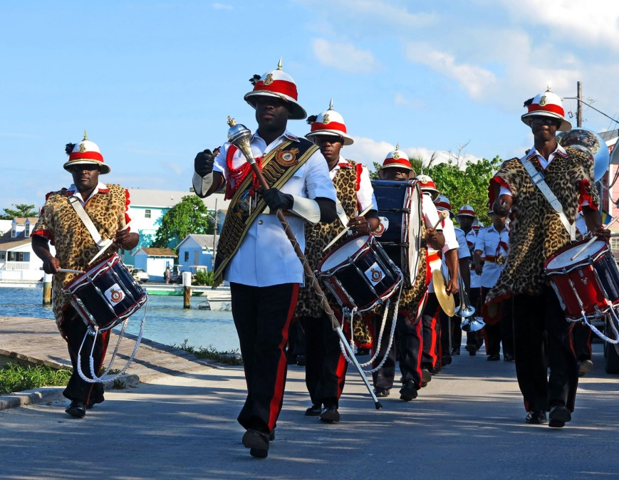 bahamas, police, band, abaco, green turtle cay, island roots