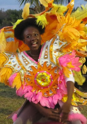 Junkanoo at the IRHF
