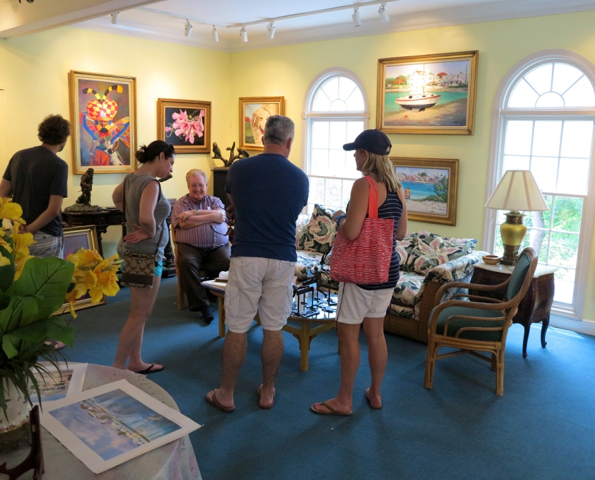 Lowe Art Gallery on Green Turtle Cay Opens for Spring/Summer Season