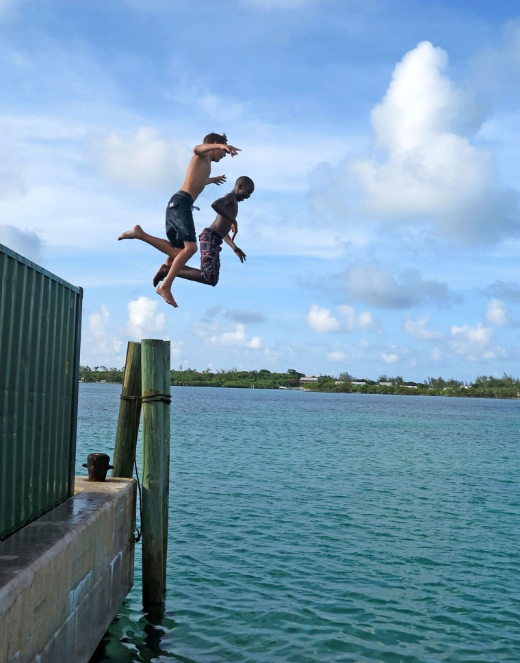 Summer Fun in Green Turtle Cay, Abaco, Bahamas