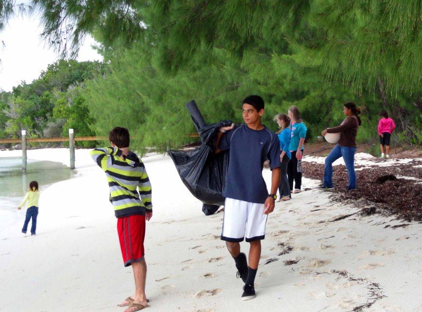 bahamas, abaco, green turtle cay, environment, beach, christian mcintosh