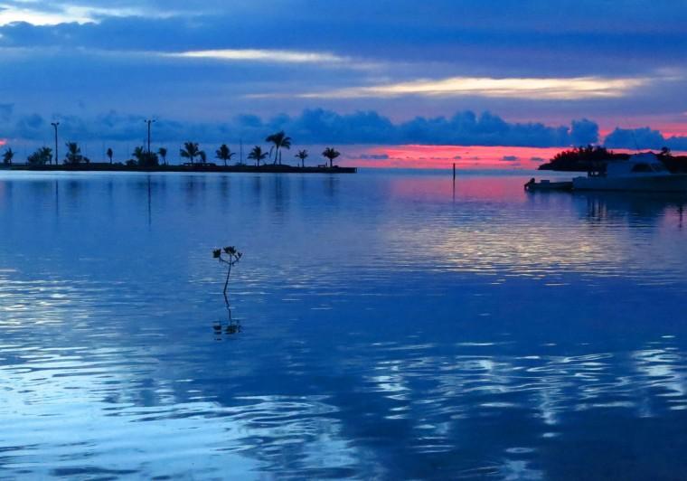 bahamas, sunset, green turtle cay, abaco