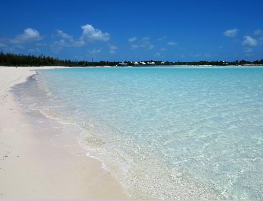 Gillam Bay Beach -- Green Turtle Cay, Abaco, Bahamas.