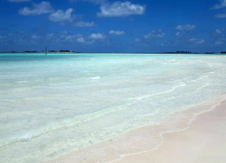 bahamas, abaco, green turtle cay, gillam bay, beach