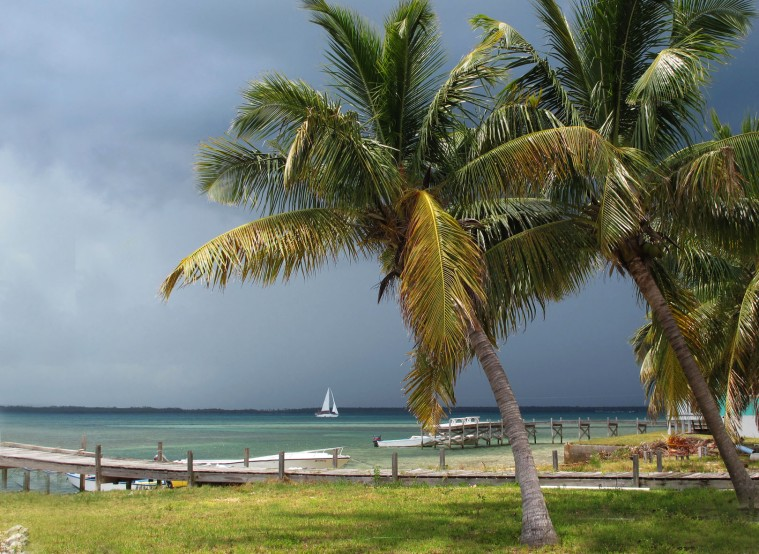 bahamas, abaco, green turtle cay, weather, storm