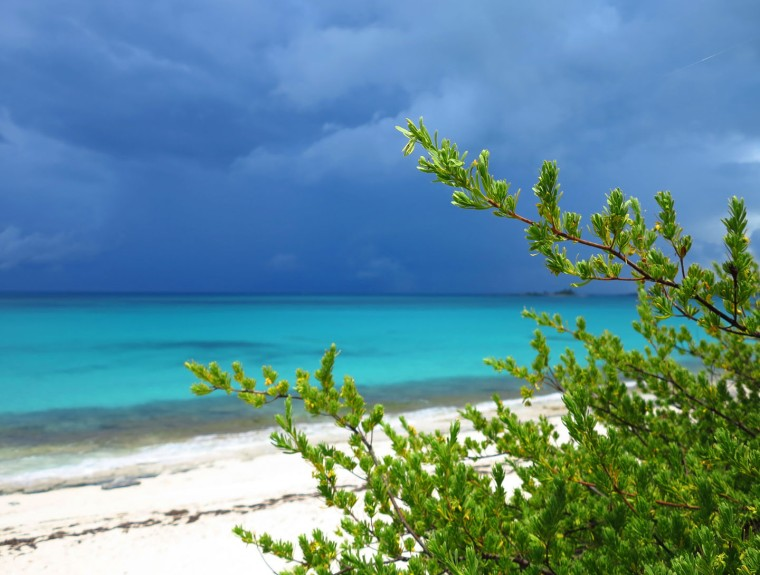Storms on the eastern horizon - Green Turtle Cay, Abaco, Bahamas
