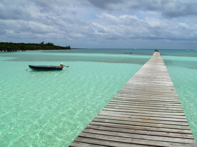 The Dock at Cherokee Sound - Abaco, Bahamas