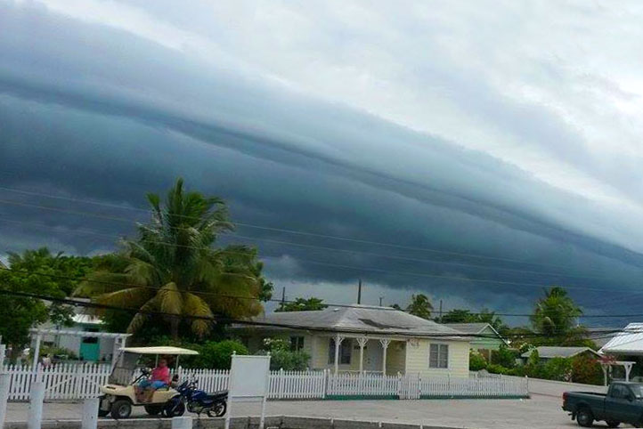 bahamas, abaco, green turtle cay, tropical storm, erika