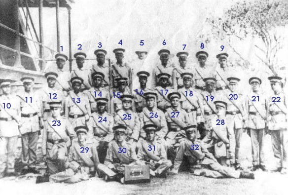 bahamas, nassau, gallant thirty, world war 1