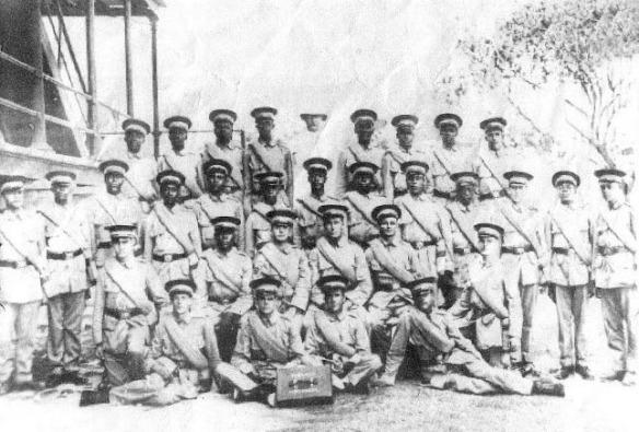 bahamas, gallant thirty, world war one, british west indies regiment