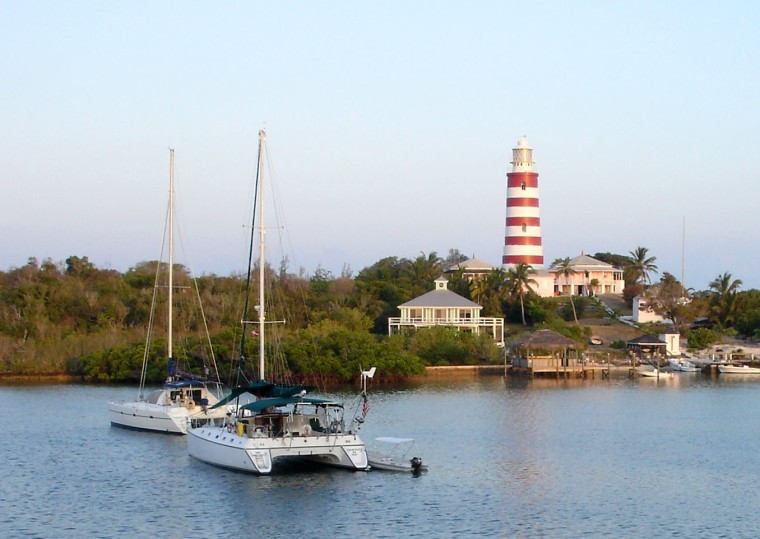 The lighthouse at Elbow Cay - Bahamas