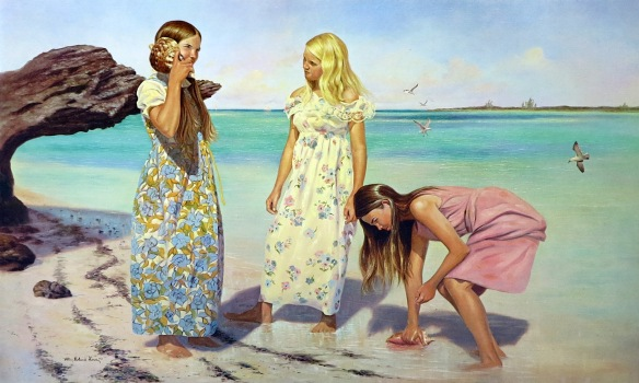 Alton Lowe art prints are available at the Albert Lowe Museum on Green Turtle Cay