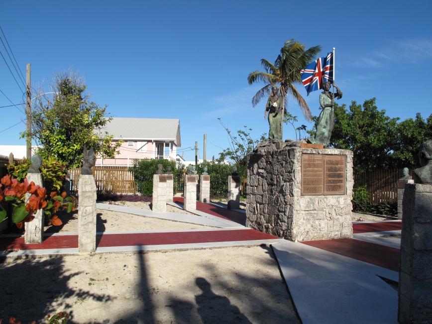 Memorial Sculpture Garden - Green Turtle Cay, Bahamas